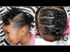 Cute Toddler Hairstyles Sefari's Hair – YouT… - Baby Hair Style Black Toddler Hairstyles, Mixed Baby Hairstyles, Kids Curly Hairstyles, Prom Hairstyles, Popular Hairstyles, Curly Hair Styles, Natural Hair Styles, Mixed Hair, Hair Hacks