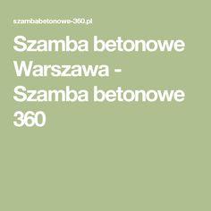 Szamba betonowe Warszawa - Szamba betonowe 360 Busan