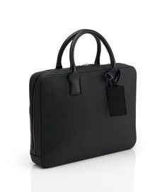 Chassis Single Zip Briefcase - Mens Designer Leather Briefcases, Bags & Luggage - dunhill