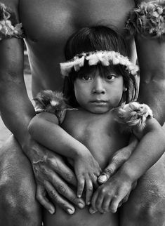 *The uncontacted Awá are particularly vulnerable, and face catastrophe unless their land is protected.  They could be wiped out by violence from loggers who steal their land and resources, and diseases like flu and measles to which they have no resistance.  Picture © Sebastiao Salgado/Amazonas/nbpictures