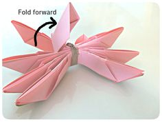 3squeezes: DIY Origami Lotus Flower