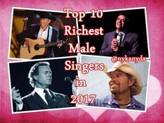 Top 10 Richest Male Singers in The World 2017 - Amazing World !!