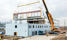 Modular building constructions gaining popularity day by day in Kerala.Modular building construction to be more stronger than the traditional building constructions. New Engine, Steel Buildings, Travel News, Kerala, Construction, Google, Square Meter, Enterprise Architecture, Design Projects