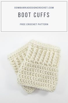 This is the adult version of Darla's Toddler Boot Cuffs Pattern. If you would like the toddler size for these please visit my post for Rainy Day Boot Cuffs. Crochet Boots, Crochet Slippers, Crochet Clothes, Crochet Headbands, Knit Headband, Baby Headbands, Quick Crochet, Cute Crochet, Irish Crochet