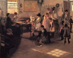 Elizabeth Adela Stanhope Forbes School is Out. 1889 г.