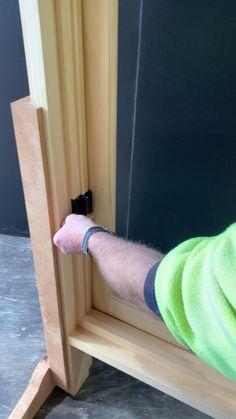 Timber Windows, Casement Windows, Large Windows, Sash Windows, Windows And Doors, Art Studio Room, Modern Small House Design, New Home Construction, Window Styles