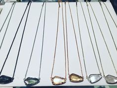 """The must-have """"Cami"""" necklace- $60  #madisonsbluebrick #downtownhotsprings #kendrascott #necklace #neckcandy #gifting"""