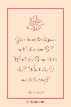 Nytt blogginnlegg ute på bloggen nå. Denne gang om det å finne ut hvem du virkelig er og på den måten ta tilbake kontrollen over livet ditt og starte å leve det slik som du selv ønsker.  #blogg #norskebloggere #nyttblogginnlegg #ambisiøsebloggere #hvemerjeg #inspirasjon #motivasjon #selvutvikling #blogging