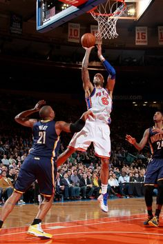 FINAL: Knicks 115 - Pacers - Chandler led the Knicks with 16 points, 7 rebounds and 4 blocks; Smith added 16 points off the bench as 5 Knicks. Tyson Chandler, Sports Sites, Pro Basketball, Just A Game, Gladiators, New York Knicks, City Living, Beautiful Body, Nba