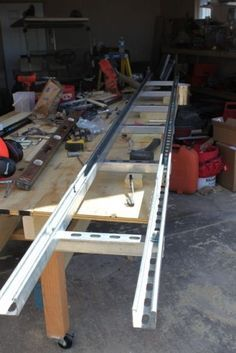 I ordered my Alaskan chainsaw mill so that I could mill my own lumber for projects. Read on about how I made my own Alaskan chainsaw mill rails to accomplish these projects! Homemade Chainsaw Mill, Homemade Bandsaw Mill, Portable Chainsaw Mill, Portable Saw Mill, Portable Bandsaw Mill, Lumber Mill, Wood Mill, Granberg Chainsaw Mill, Welding Projects