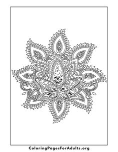 Coloring Pages for grown ups #mandala #coloringpages #coloringpagesforadults
