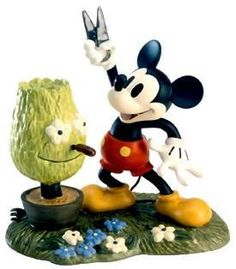 WDCC Mickey Cuts Up Mickey Mouse A Little Off The Top