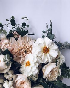 419 Likes, 4 Comments – krissy price (Krissy Price (Pollen Floral Design)) on In… - Bridal Flowers Deco Floral, Arte Floral, Floral Design, My Flower, Beautiful Flowers, Wedding Bouquets, Wedding Flowers, Flower Aesthetic, Foliage Plants