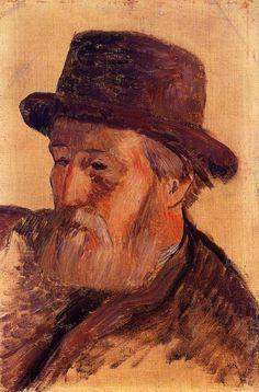Paul Gauguin- Isidore Gauguin, 1884