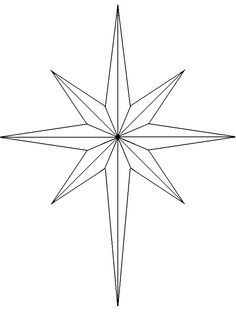 Star Patterns Stars And Star Template On Pinterest