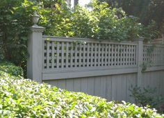 Fence Painting Ideas garden fence paint ideas sumptuous design front yard fence ideas 736 X 552 pixels Garden Fence Paint, Decorative Garden Fencing, Garden Gates And Fencing, Small Yard Landscaping, Backyard Fences, Fence Design, Garden Design, Fence Paint Colours, Fenced Vegetable Garden