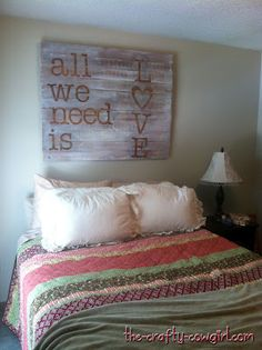 Diy wood pallet painted sign, painted kitchen cabinets and a diy pallet desk  http://debbie-debbiedoos.com/diy-wood-pallet-painted-sign-painted-kitchen-cabinets-and-a-diy-pallet-desk.html
