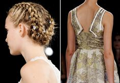 Lovely hair style @ honor SS13