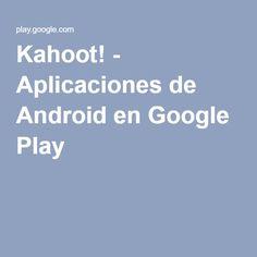 Kahoot! - Aplicaciones de Android en Google Play