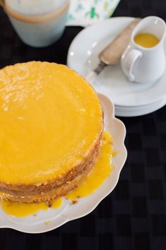 Amazing recipe for the most elegant and moist Orange Layer Cake. Latin American Food, Latin Food, Sweet Recipes, Cake Recipes, Chilean Recipes, Chilean Food, Houston Food, Cake Flour, Food Menu