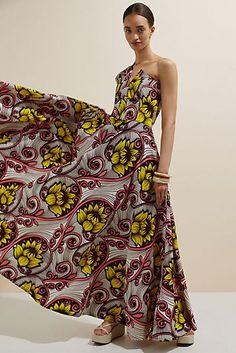 Felicity Embroidered Maxi Dress | Anthropologie Pleated Midi Dress, Maxi Wrap Dress, Floral Midi Dress, Strapless Dress, Wedding Attire, Dress To Impress, New Dress, Summer Dresses, Clothes For Women