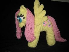 Fluttershy Crochet Pattern , My Little Pony Plushie Tutorial , Animal Plushies, Softies & Furries Arts and Crafts, My Little Pony Patterns for Fan Art Diy Projects, My Little Pony Sewing Template for Majesty Unicorn , pony, ponies, pattern, template, sewing, diy , crafts, kawaii, MIP
