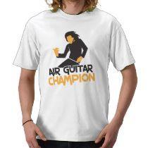 Air Guitar Champion design t-shirts by JazzyHumor  http://www.zazzle.com/jazzyhumor*