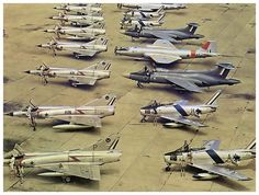 Mirage III interceptors, Sabre fighters, Blackburn Buccaneer attack jets and Camberra bombers of the South African Air Force. Military Jets, Military Aircraft, Fighter Aircraft, Fighter Jets, Blackburn Buccaneer, Aviation Forum, South African Air Force, Aircraft Design, Aircraft Pictures