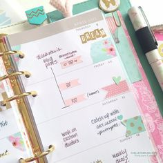 Chelley Darling | Color Crush Planner Archives | Chelley Darling