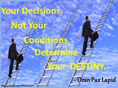 Quote for the Day: Determine Your Destiny | Destination FEED