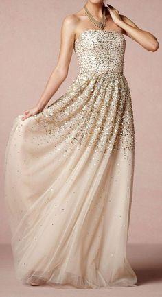 Gorgeous Glitter Wedding Gown ♥