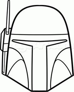 Star wars characters how to draw boba fett easy step 6 (galaxy cupcakes how Star Wars Cookies, Star Wars Cake, Star Wars Gifts, Star Wars Party, Easy Drawing Steps, Step By Step Drawing, Easy Drawings, Star Wars Zeichnungen, Star Wars Painting