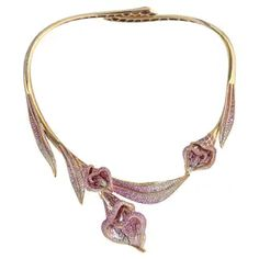 Diamond, Pearl and Antique Choker Necklaces - 2,305 For Sale at 1stDibs - Page 3 Pearl Choker Necklace, Diamond Flower, Bangles, Bracelets, Chokers, Jewels, Antiques, Pretty, Vintage
