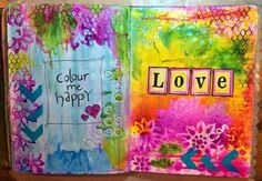 Kat's Stampin and Scrap Pad: I'm Back and with some Art Journalling!