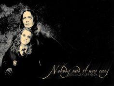 Severus Snape & Hermione Granger - Hermione & Severus Wallpaper (7087013) - Fanpop
