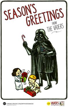 Seasons Greetings from The Vaders by Jeffrey Brown