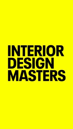 BBC Two - Interior Design Masters, Series Episode 1 Interior Design Masters, Big Design, Design Ideas, Bbc Two, Strong Personality, Design Strategy, Top Hotels, Commercial Design, Education Quotes