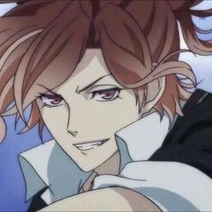 """Oi, Ive got to sleep for now heh. Well my ad does."" He chuckled lightly, then walked away. (( Night Minna, it is am, I need my sleep but Subaru will be back. Anime Couples Manga, Cute Anime Couples, Diabolik Lovers Yuma, Mukami Brothers, Ruki Mukami, Hot Anime Guys, Manga Illustration, Manga Girl, Anime Kiss"