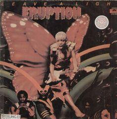 Leave A Light Eruption English Vinyl LP