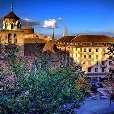 Geneva Old Town Rooftops