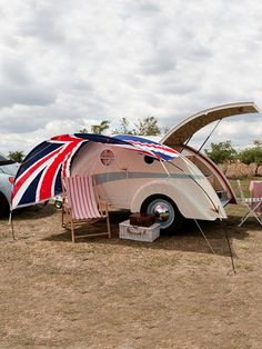The English Caravan Company Vintage Style Caravan at Coggles.com online store
