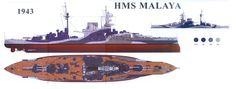 "HMS ,,Malaya"" (1943)"