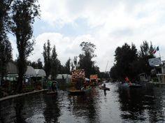 Canais de Xochimilco. Cidade do México. Foto : Cida Werneck