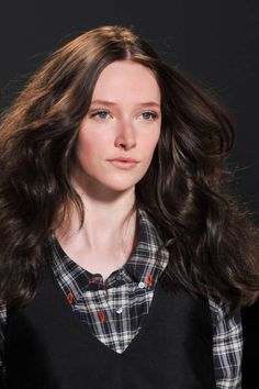 Marissa Webb Fall 2014 Ready-to-Wear Beauty - Marissa Webb Ready-to-Wear | #hair