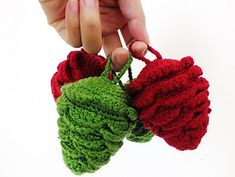 Ravelry: Colorful Pine Cone for Christmas Decoration pattern by May Ahmaymet