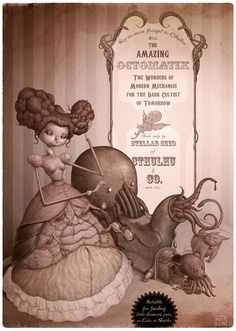 The Amazing Octomatix by Felideus Bubastis, via Behance