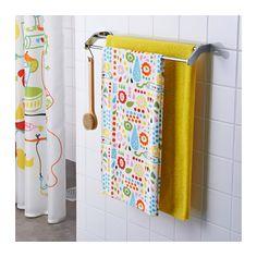 LÖNNERN Bath towel, multicolour