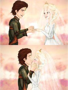 Hiccelsa wedding kiss