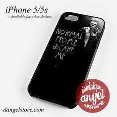 American Horror Story Quotes (2) Phone case for iPhone 4/4s/5/5c/5s/6/6 plus