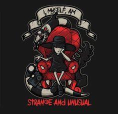 Lydia the Strange by Letter_Q
